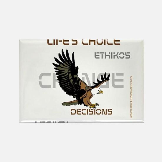 HIA Eagle design Rectangle Magnet (10 pack)