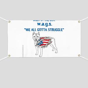 HIA Dog Flag design Banner