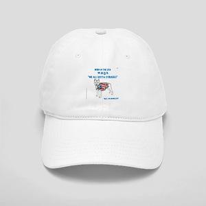 HIA Dog Flag design Cap