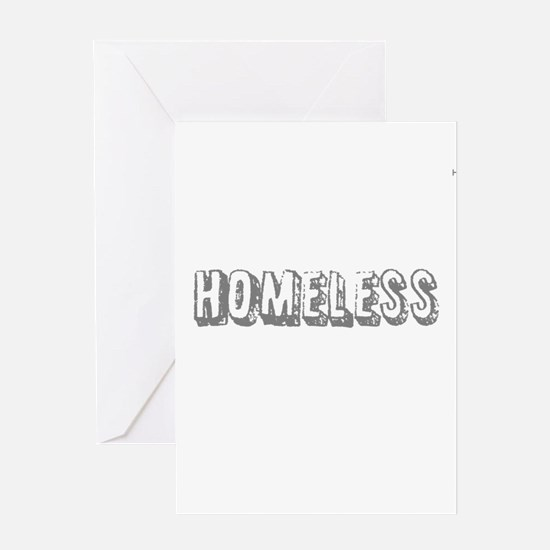 HIA Homeless design Greeting Card