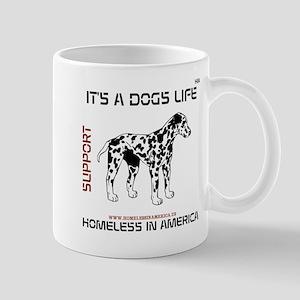 HIA Its A Dogs Life design Mug