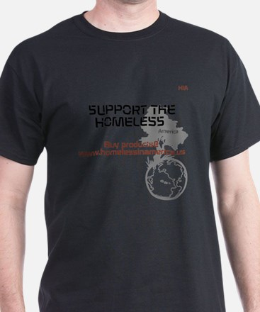 HIA HomelessInAmerica design T-Shirt