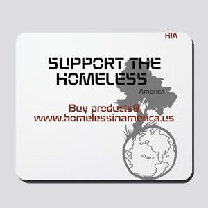 HIA HomelessInAmerica design Mousepad