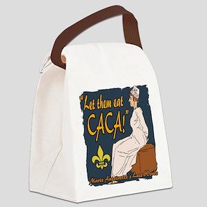 Marie Antoinette Canvas Lunch Bag