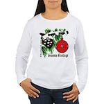 Christmas Red Ball Women's Long Sleeve T-Shirt