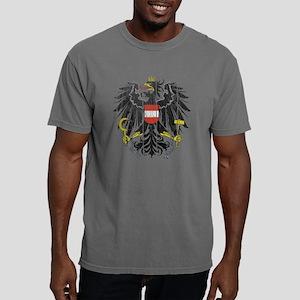 Austria Coat of Arms woo Mens Comfort Colors Shirt