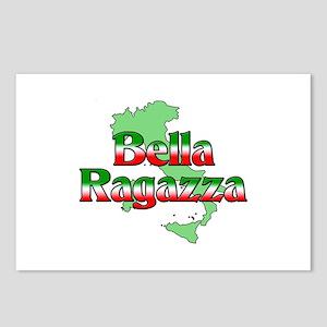 Bella Ragazza Postcards (Package of 8)