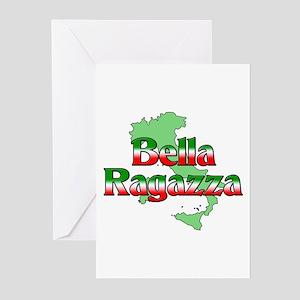 Bella Ragazza Greeting Cards (Pk of 10)