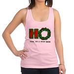 Christmas Ho, A Good Thing Racerback Tank Top