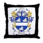 Warner Coat of Arms Throw Pillow