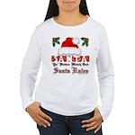 Santa Claus Rules Women's Long Sleeve T-Shirt