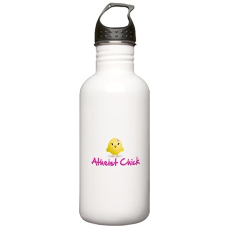 Atheist Chick Stainless Water Bottle 1.0L