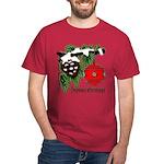 Christmas Red Ball Dark T-Shirt
