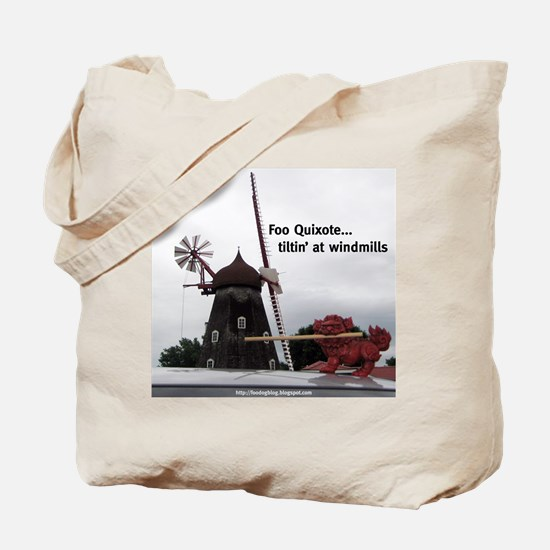 Quixote Foo Tote Bag