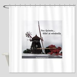 Quixote Foo Shower Curtain