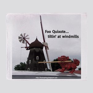 Quixote Foo Throw Blanket