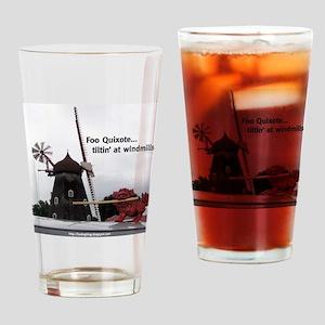 Quixote Foo Drinking Glass