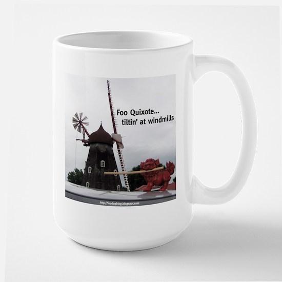Quixote Foo Large Mug
