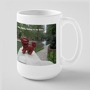 Riverwalk Foo Large Mug