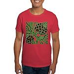 Christmas Pine Cones Dark T-Shirt