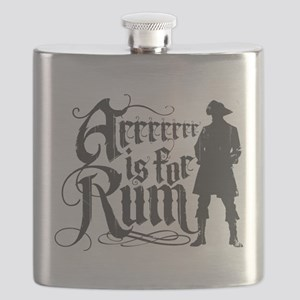 Arrrrrrr is for Rum Flask
