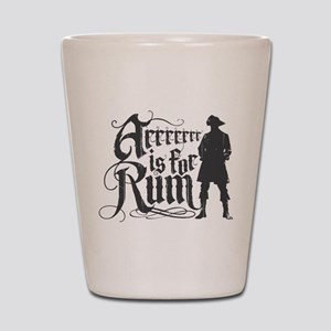 Arrrrrrr is for Rum Shot Glass