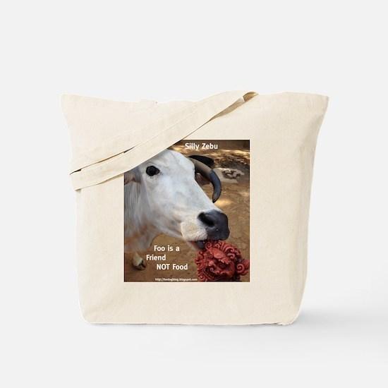 Zebu Foo-d Tote Bag