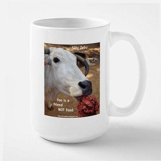 Zebu Foo-d Large Mug