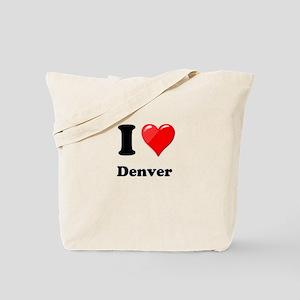I Heart Love Denver Tote Bag
