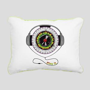 Music of Life Rectangular Canvas Pillow