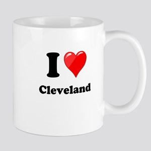 I Heart Love Cleveland Mug