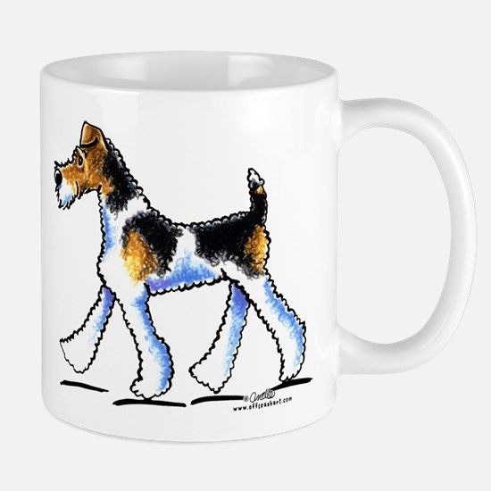 Wire Fox Terrier Trot Mug