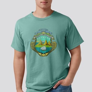 Costa Rica Coat of Arms  Mens Comfort Colors Shirt