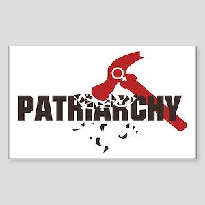 Smash Patriarchy Sticker (Rectangle)
