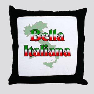 Bella Italiana Throw Pillow