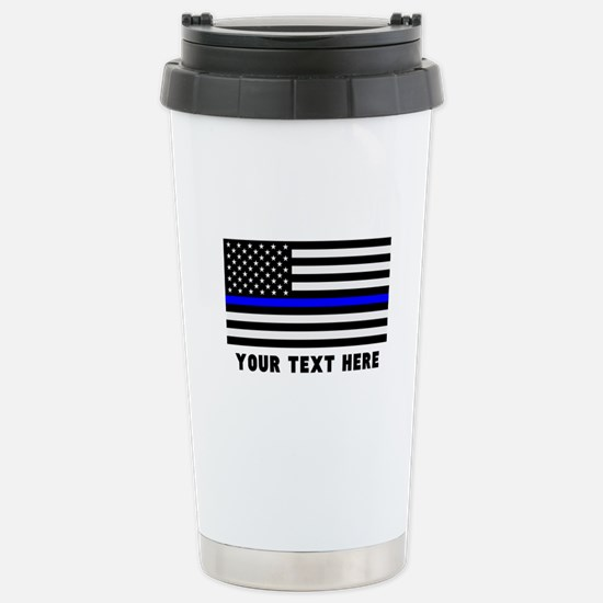 Thin Blue Line Fl Travel Mug