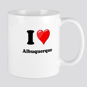 I Heart Love Alburquerque Mug