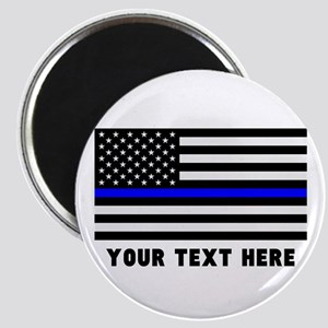 Thin Blue Line Flag Magnet