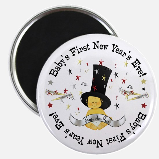 Baby's 1st New Year Magnet
