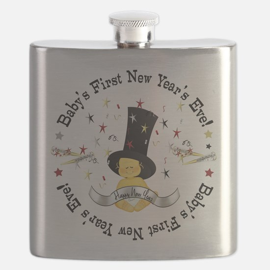 Baby's 1st New Year Flask