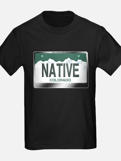 colorado_licenseplates-native2 T-Shirt