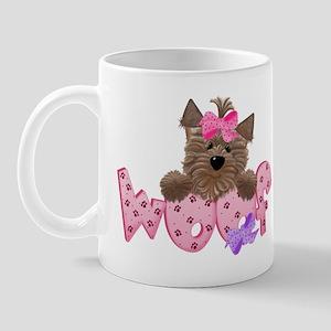 Yorkiegirl Woof Mug