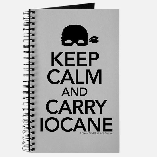 Keep Calm Carry Iocane Journal