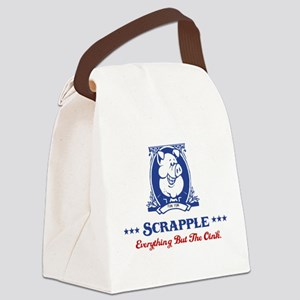 Scrapple - Everything But The Oink Canvas Lunch Ba