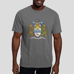 Guyana Coat of Arms wood Mens Comfort Colors Shirt