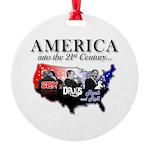 21st Century America Round Ornament