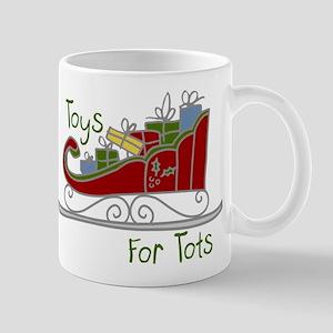 Toys for Tots Sleigh Mug