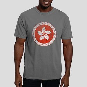 Hong Kong Coat of Arms w Mens Comfort Colors Shirt