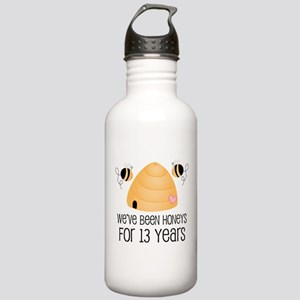 13th Anniversary Honey Stainless Water Bottle 1.0L