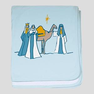 Three Kings baby blanket